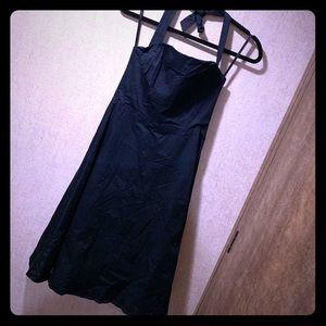 WHBM Black Strap or Strapless Dress